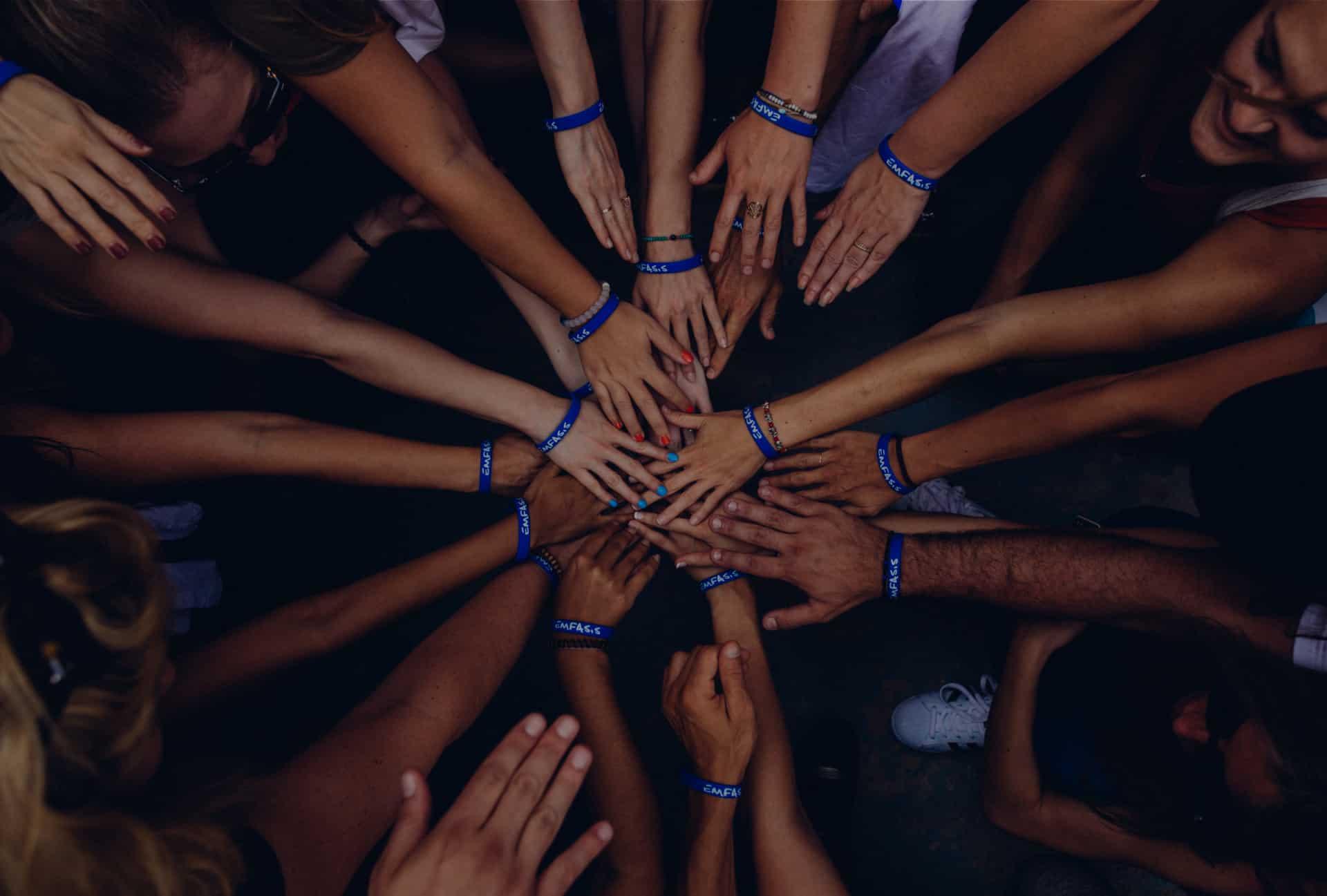 Teamwork, Hands Together
